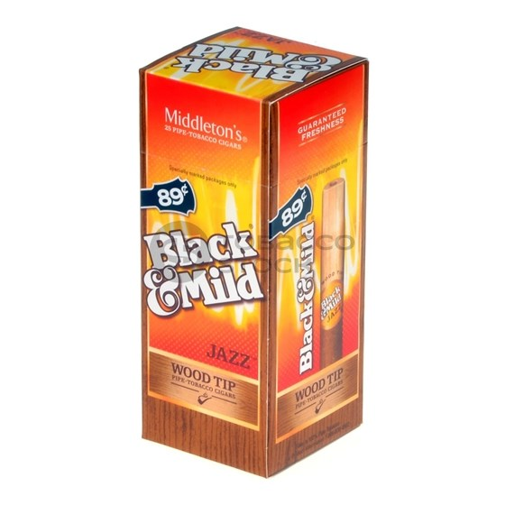Black & Mild Jazz Wood Tip | Resnick Distributors