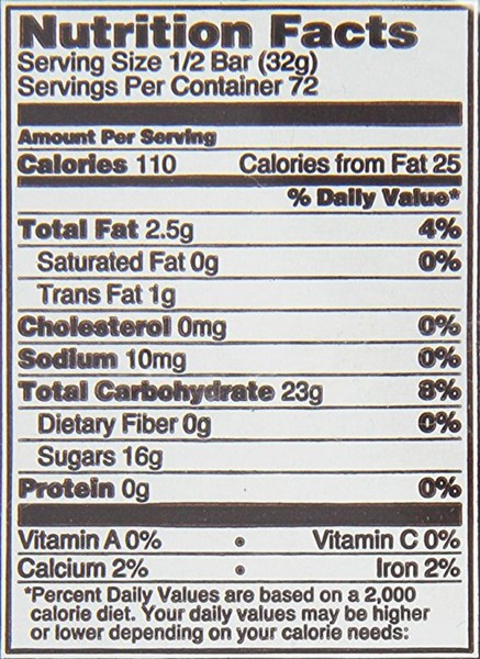 Charms Blow Pop Nutrition Label | The